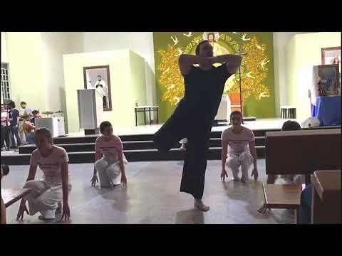 Retiro Arquidiocesano do Ministério de Música e Artes   Apresentação do Ministério de Dança JAF