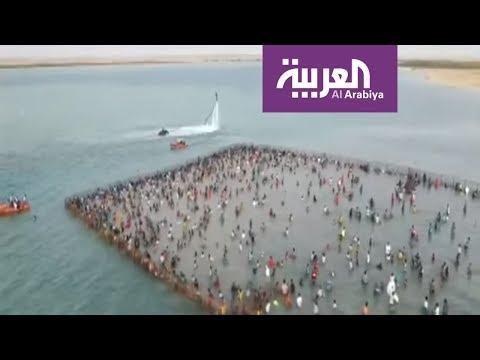 العرب اليوم - شاهد: مهرجان الحريد السياحي في