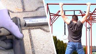Fitnessgeräte selber bauen!
