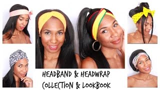 Headband & Headwrap Styles for Straight Hair Look Book