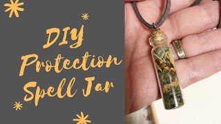 DIY Protection Spell Jar: A Simple Protection Necklace