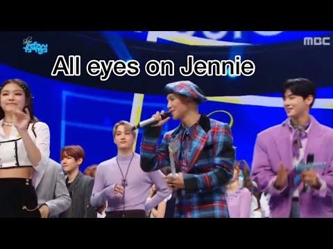All eyes on Jennie ft Mino, Kai and Baekhyun
