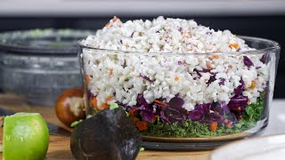 Detox Salad: Easy, Fresh, And Filling!