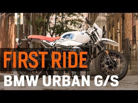 BMW R nineT Urban GS First Ride Review at RevZilla.com