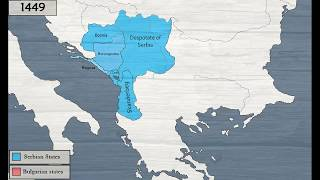 History of Serbia and Bulgaria [681-1496]