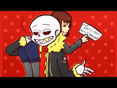 How Sans got girlfriend ? 【 Undertale and Deltarune Comic Dubs 】