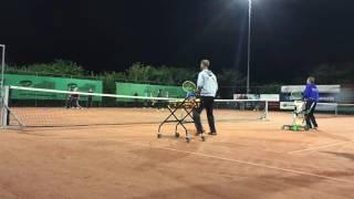 Bas Tennis Academy - Clinic TV De Hei
