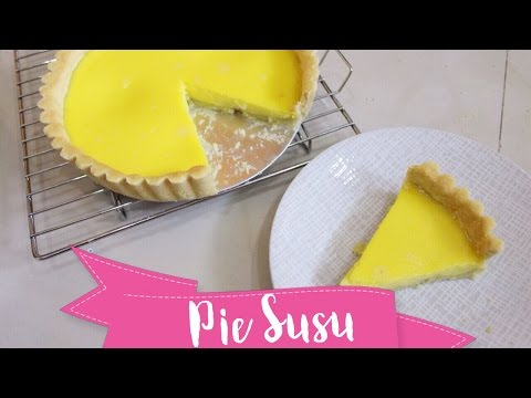 Video #MakananIndonesia Pie Susu | Kue Lontar | Resep Pie Susu