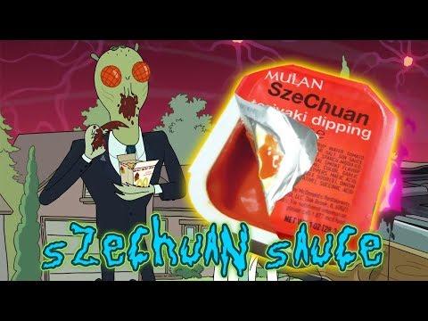 Rick & Morty & McDonalds Brings Back Szechuan Sauce