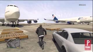 GTA 5: How to Steal a Jumbo Jet