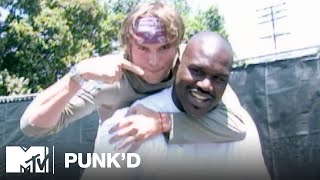 Ashton Kutcher vs. Shaquille O'Neal, Avril Lavigne & Triple H | Punk'd