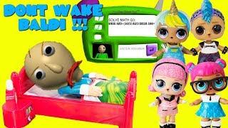 DON'T WAKE BALDI Baldi's Basics Game LOL Punk Boi, Unicorn Boi, Teacher's Pet