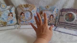 Magnolia Tilda Ocean, Criss Cross, Shaker Themed Cards +One Odd Ball