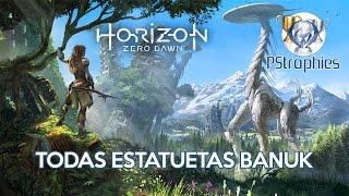 Horizon Zero Dawn - Todas as estatuetas Banuk encontradas - Guia de Troféu 🏆