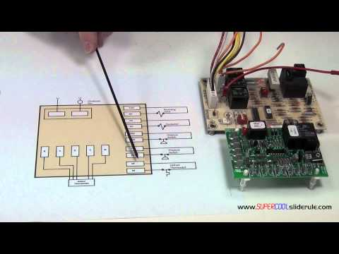 The Sequence of Operation for a Defrost Heat Pump Board