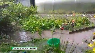 Ливневые воды с отремонтированной ул. Шишкова затапливают ул.Тургенева (Бийское телевидение)