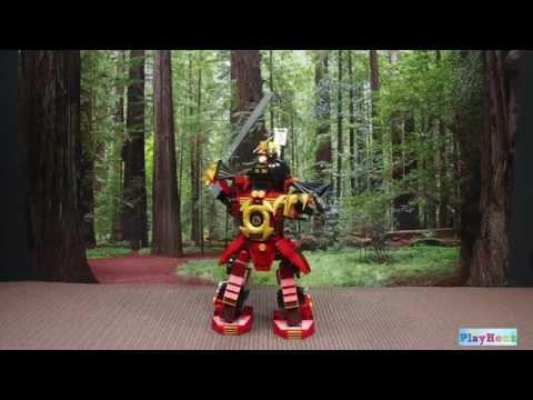 Vidéo LEGO Ninjago 9448 : Le robot Samouraï