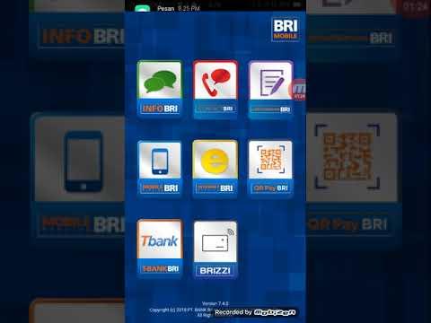 Tutorial Disable dan Anable Kartu ATM dengan BRI Mobile