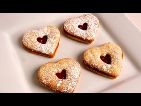 Linzer Cookies – Recipe – Laura Vitale – Laura in the Kitchen Episode 311