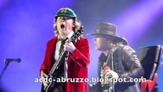 AC/DC + Axl Rose Shoot To Thrill Lisbon 2016