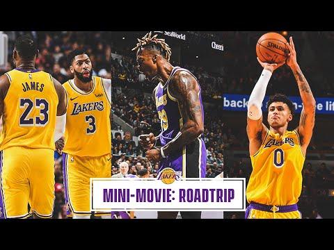 Mini-Movie: Lakers Complete 3-0 Road Trip