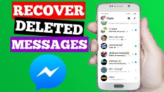 How To Recover Deleted Messages on Messenger (2020)