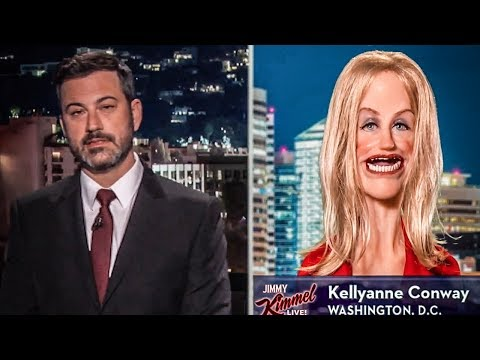 Jimmy Kimmel Completely Dismantles Kellyanne Conway On Late Night Show - The Ring of Fire