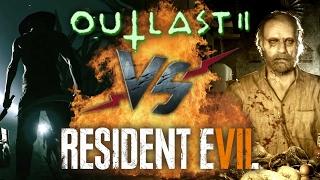 Рэп Баттл - Outlast 2 vs. Resident Evil 7: Biohazard