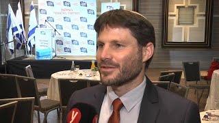 """ראיון עם בצלאל סמוטריץ שנבחר ליו""""ר מפלגת האיחוד הלאומי"""