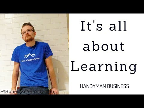 How I learn as a Handyman - YouTube