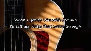 Duffy - Warwick Avenue (Acoustic Guitar Karaoke)