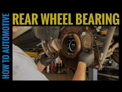 How to Replace the Rear Wheel Bearing on a 2007-2014 Ford Edge