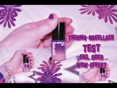Thermo-Nagellack: Test   |FAIL oder WOW-EFFEKT?!|