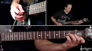 The Call of Ktulu Guitar Lesson (Rhythms/Part 1) - Metallica