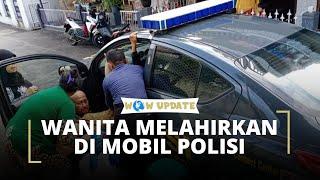 Sudah Tak Tahan, Seorang Wanita di Tasikmalaya Melahirkan di Dalam Mobil Polisi