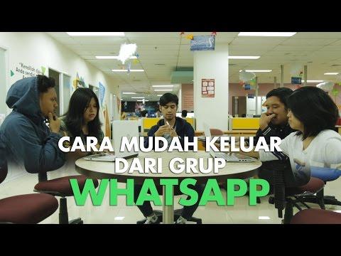 Video CARA KELUAR DARI GRUP WHATSAPP