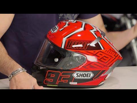 Shoei X-14 Marquez 4 Helmet Review at RevZilla.com