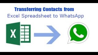 Excel to Whtasapp group