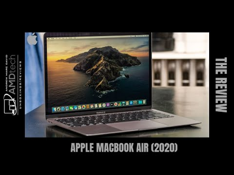 External Review Video 0Ylr2PpY4Wc for Apple MacBook Air Laptop (2020)