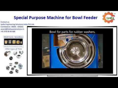 Special Purpose Machine for Bowl Feeder