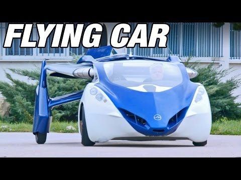 You don't think we'll have flying cars in the near future ...