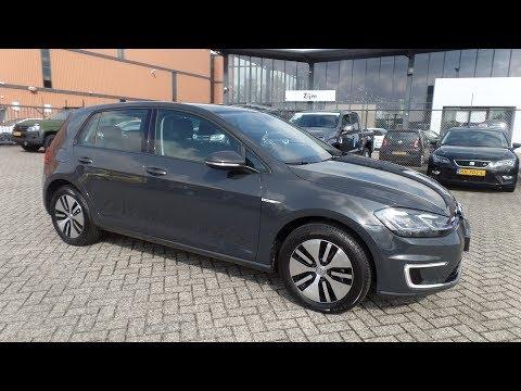 Volkswagen e-Golf GP 100% elektrisch! Urano Grijs NEW E-Golf GP