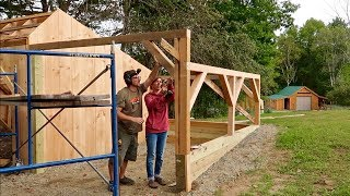 Salvaging 4x4 Beams from a Pallet to Build our Post and Beam Carport