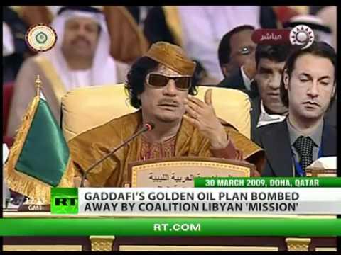 I veri motivi per l'eliminazione di Gheddafi
