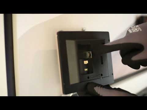 Hikvision DS-KH8350-WTE1 Indoor Station Installation & Configuration Guide