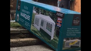 Garden Party Marquee Sold By B&M Review