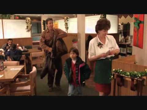 The Santa Clause Denny's scene