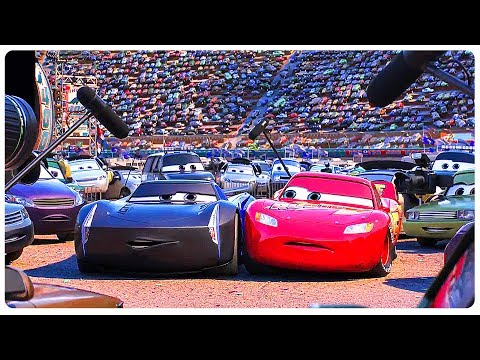 "Cars 3 ""Lightning McQueen Meets Jackson Storm"" Movie Clip (2017) Disney Pixar Animated Movie HD"