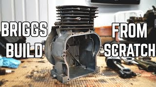 Flathead Briggs Build from Scratch | Homemade Performance Mods!