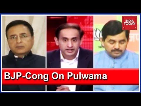 Is Congress Politicising Pulwama Attack? | BJP Vs Congress Debate